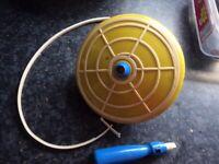 Humming spinning top toy 1960s era