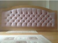 King size wall mounted headboard