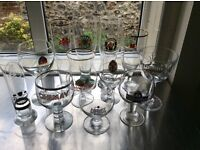 Belgian and German Beer Glasses-12 different makes