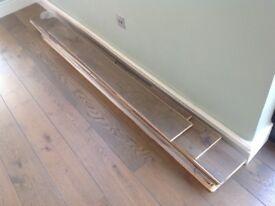 Engineered oak wood floor boards