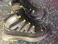 Salomon kids boots