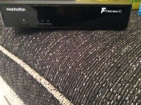 3 month old free view box perfect condition