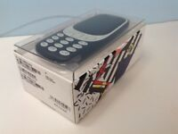 Nokia 3310 Unlocked & SIM Free Candy Bar Phone in Blue #141769