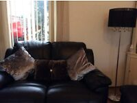 3+2 black recliner suite 6months old excellent condition must be seen