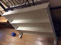 Shabby Chic Vintage Dresser Shelf top Unit only
