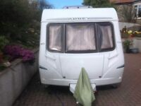 Abbey Aventura 318 4 Berth Caravan 2006