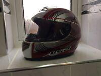 Motorcycle helmet LS2 large