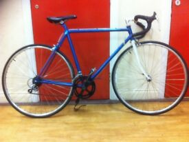 "Unisex roadbike - fully refurbished 20"" frame, 700x23c wheels, Shimano 600 gears, Shimano 105 brakes"