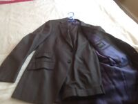 """Marks and Spencer's """"Autograph Essentials"""" Dark Grey Suit"""