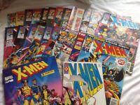Job Lot of X-Men comics from 1994 - 95
