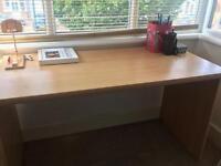 Desk & Bookshelf