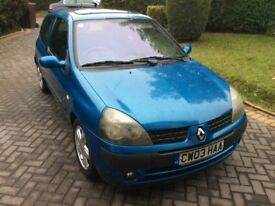 For sale a well looked after Renault Clio Dynamique