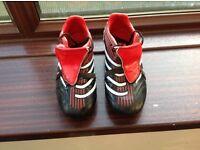 Football boots kids size 2