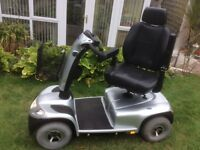 INVACARE COMET 8 Mph mobility Scooter, Carries up to 25 stone.