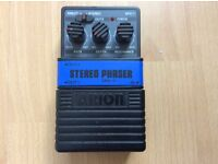 Arion SPH-1 Stereo Phaser Guitar Pedal original 80's + Box