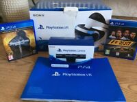 Play station VR + 2 Games