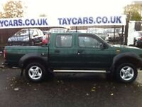 NISSAN NAVARA 2.5 DIESEL PICK UP CREWCAB