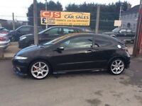 Honda Civic type R Vtec 2007 only 70000 fsh long mot mint car fully serviced possible px
