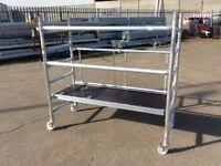 Lyte Industrial Folding Tower System LIFT Alloy Aluminium Scaffold 0.6m on castors