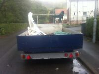 double axle trailer 9.5x6.5
