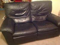 2 & 3 seater leather Reid's leather recliner suites