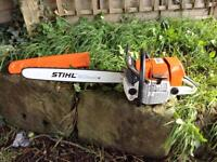 Stihl MS660 Chainsaw Very Clean, Brand New Bar and Chain
