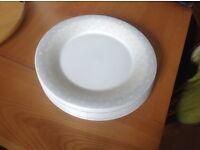 Large dinner plates six from Debenhams new