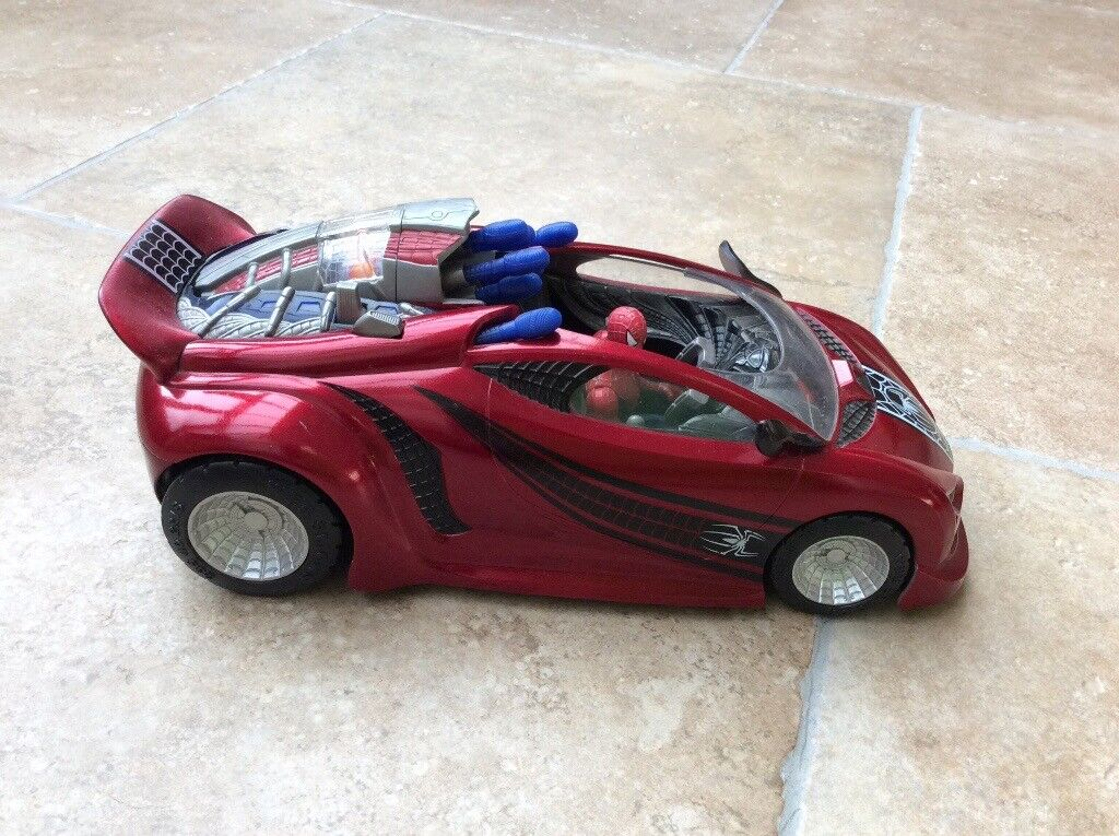 Spider-man Battle Action Web Rocket Action a Figure Car