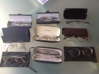 Selection of used glasses Dnky,CK,Police etc