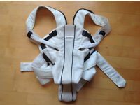BABYBJORN Baby Carrier Active, White, Mesh