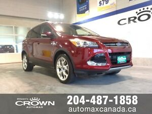 2013 Ford Escape Titanium *Nav/Park Assist/Roof* Only $188 B/W!