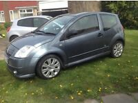 Citroen c2 code limited addition