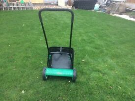 Push mower hardly used v g c cash on collection only
