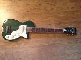 Harmony Stratotone H44 guitar - Ritchie Valens reissue RARE!