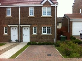 3 bed semi-detached house inc. council tax