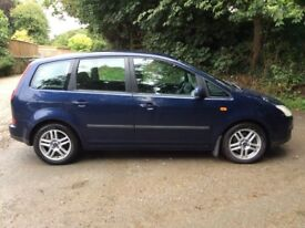 2004 FORD FOCUS C-MAX ZETEC MPV - OUTSTANDING FAMILY VEHICLE - FULL SERVICE HISTORY - FULL M.O.T.