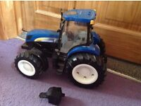 Kids toy tractor.