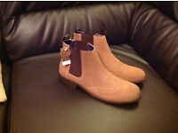 Brand new next leather boots size 5