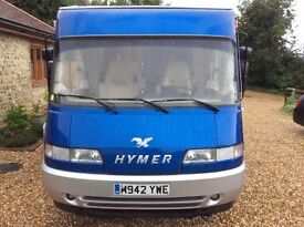 1995 HYMER B694 Diesel Motorhome. MOT Until 06/2018. Full Service June 17.
