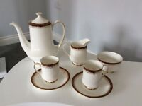 Royal Albert Bone China Holyrood Coffee Set