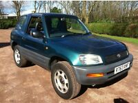 1997 TOYOTA RAV4 SWB 4X4 2 DOOR **FULL MOT** RUNS AND DRIVES PERFECTLY , NO MECHANICAL FAULTS
