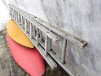 10 Foot Extendable Metal Ladder