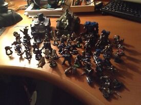 WarHammer 4K (space marines/Imperial Guard)
