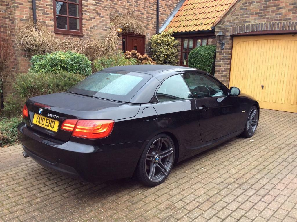 2010 bmw 320d m sport convertible cabriolet auto lci face lift model in lowestoft suffolk. Black Bedroom Furniture Sets. Home Design Ideas