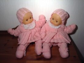 Twin baby dolls for sale