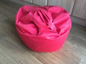 Brand new child's red bean bag pick up only
