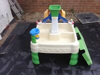 Children's wate and sand pit. Very good condition, nice and clean and well looked after.