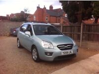 KIA Carens 2.0 CRDi LS 5dr (7 seat), FULL SERVICE HISTORY, VERY SPECIOUS, STUNNING EXAMPLE.