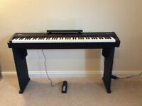 Keyboard Roland FP4. Bought new 2011 by present owner. Not moved around. Used as family piano.
