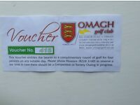 4 ball golf voucher